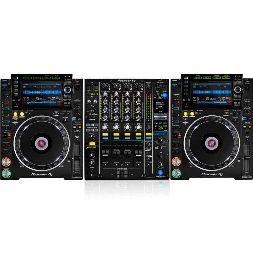 2 x CDJ 2000 NX2 1 x DJM 900 Nexus