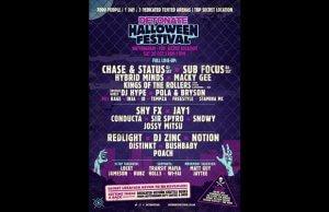 Detonate Halloween Festival @ Top Secret!