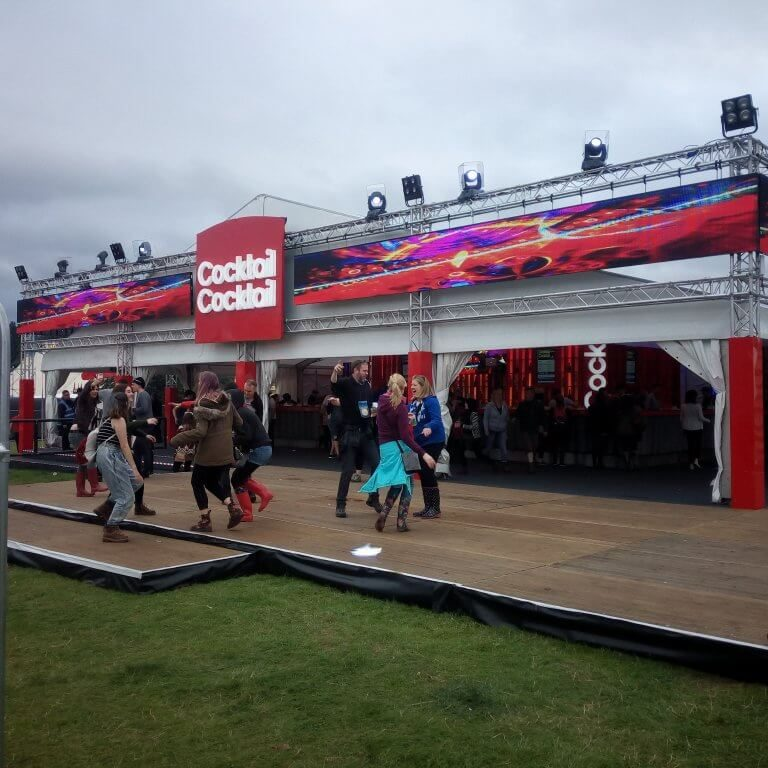 Cocktail Bar at V Festival