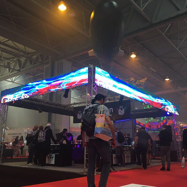 Exhibition Stand for Vapour Expo 2017